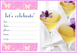 Butterfly Invitations Free Printable Summer Butterfly Invitations Butterfly Martini