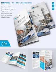 tri fold brochure template free indesign premium member benefit