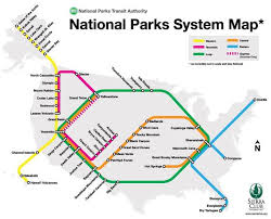 map of us states national parks map of every national park in the us ecoclimax us national parks