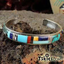 How To Make Inlay Jewelry - zuni jewelry turquoise skies