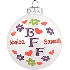 personalized bff glass ornament 1145092 9 99 personalized