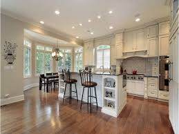 Range In Island Kitchen by Kitchen Designs White Cabinets With Santa Cecilia Granite Small