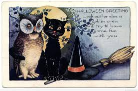 cat happy halloween clipart clipartxtras
