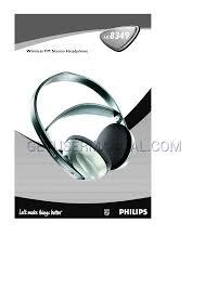 philips headphones sbc hc8355 user u0027s manual download free