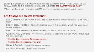 2017 bet awards official red carpet viewing party tickets sun