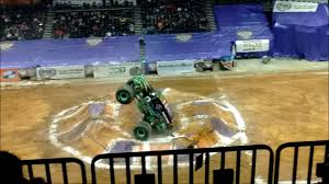 bjcc monster truck show grave digger wheely time monsterjam jan 6 2017 youtube