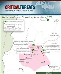 Nfl Coverage Map 2009 Waziristan Conflict Map Critical Threats