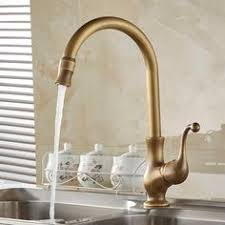 Buy Kitchen Faucet by 48 95 Buy New Antique Brass Kitchen Bath Swivel Spout Tall