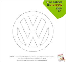 original volkswagen logo vw logo dxf free dxf files free cad software dxf1 com