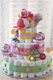 baby shower gift ideas diaper cake baby lollipops shoes