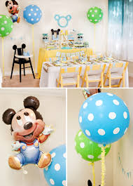 1st birthday party themes for boys creative mickey mouse 1st birthday party ideas free printables