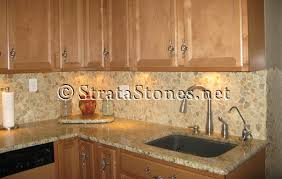 tile backsplash for kitchens quartz pebble tile kitchen backsplash picture