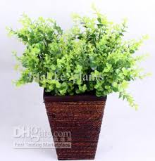 Artificial Plant Decoration Home 2017 40 Stems Spring Grass Series Artificial Plants Home Garden
