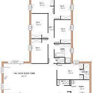 maison 6 chambres plan maison plain pied 4 chambres