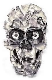 Amazing Skull - ali gulec and his amazing skull artworks frikkin awesome
