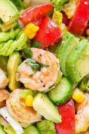 avocado shrimp salad recipe with cajun shrimp and the best flavors