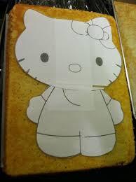 free kitty cake template samantha u0027s birthday