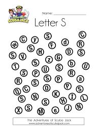 letter u201cs u201d activities and printables adventures of scubajack
