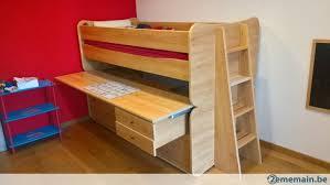 lit superposé bureau lit superposé avec bureau a vendre 2ememain be