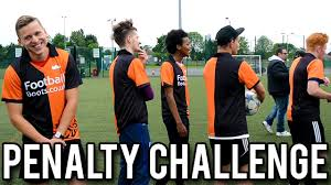 Football Penalty Flags Penalty Challenge Featuring The Lineup Shoot And Thrill Ethan