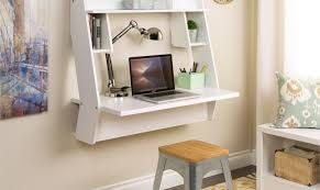 Cool Desks For Small Spaces 8 Wall Mounted Desks That Save Room In Small Spaces