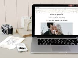 free personal wedding websites get a free wedding website with minted secret wedding