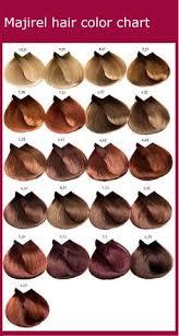 loreal hair color chart ginger majirel 6 31 pesquisa google hair beauty that i love