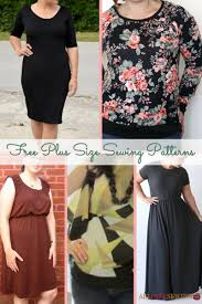design pattern of dress 23 free plus size sewing patterns allfreesewing com