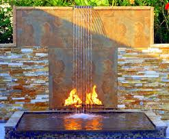 Backyard Waterfall 15 Backyard Waterfalls For Soothing And Peaceful Modern Backyard