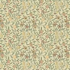 William Morris Wallpaper by Gordon Smith Malvern Ltd William Morris Fruit Minor Ivory