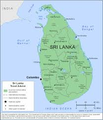 Sri Lanka Map Blank by Smartraveller Gov Au Sri Lanka