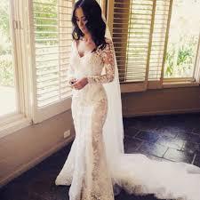Wedding Dress Lace Sleeves Best 25 Lace Sleeve Wedding Dress Ideas On Pinterest Long
