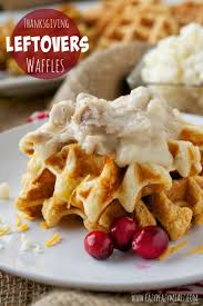 thanksgiving leftover waffles eazy peazy mealz
