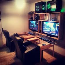 Gaming Desk Ideas by Oh Yes This Is Going To Be In My House One Day U003c3 Future