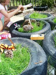 let the children play set the stage for imaginative play outdoors