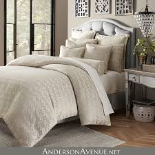neutral colored bedding the carlyle is a soft neutral bedding collection with shimmering