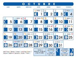 imagenes calendario octubre 2015 para imprimir calendario lunar octubre de 2015