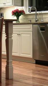 square island legs perfect for contemporary kitchen 4 square