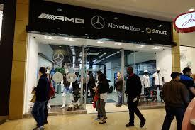 mercedes shop uk almost 500 sales leads as mercedes pop up shop proves a big