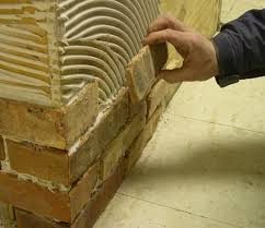 installing brick tile news from inglenook over a vertical surface