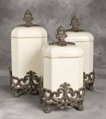 tuscan style kitchen canister sets ceramic kitchen canisters sets foter
