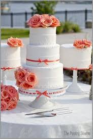 coral wedding cakes 8 best wedding cakes images on asheville and