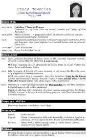 Resume In English Resume In English Examples Free Resume Example And Writing Download