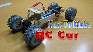 how to make a rc car 4wd homemade rc car youtube