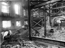 The Inside Of The White House File Construction Equipment Inside The White House Ca 1950 Jpg
