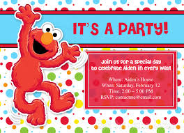 free birthday invitation card elmo birthday invitations u2013 gangcraft net