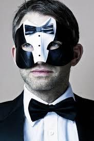 masquerade masks men men s tuxedo black white leather masquerade mask