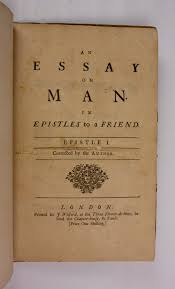 Alexander pope essay on man epistle