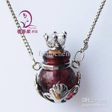 bottle necklace pendant images Perfume necklace vial perfume bottle pendant arom vials perfume jpg