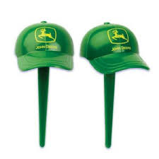 deere cake toppers deere farm caps hat birthday party 24 bakery